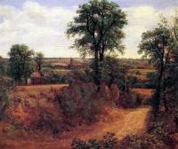 Thomas Gainsborough : Fen Bridge Lane