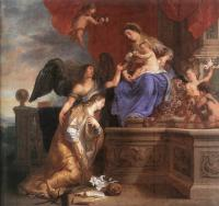 Gaspard De Crayer : The Coronation Of St Rosalie