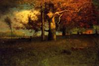 George Inness : Early Autumn Montclair