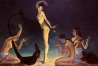 George Owen Wynne Apperley : A Dancer Of Ancient Egypt