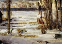 George Wesley Bellows : A Morning Snow