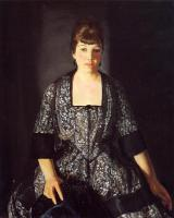 George Wesley Bellows : Emma in the Black Print