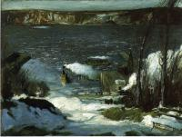 George Wesley Bellows : North River