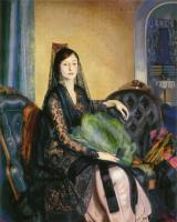 George Wesley Bellows : Portrait of Elizabeth Alexander