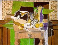Georges Braque : Still Life with Le Jour