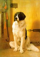 Jean-Leon Gerome : Study of a Dog