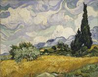Vincent Van Gogh : Wheat Field with Cypresses