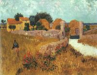 Vincent Van Gogh : Farmhouse in Provence