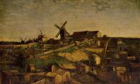 Vincent Van Gogh : Montmartre: the Quarry and Windmills