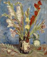 Vincent Van Gogh : Vase with Gladioli