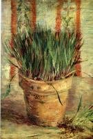 Vincent Van Gogh : Flowerpot with Chives