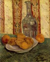 Vincent Van Gogh : A Plate with Lemons and a Carafe