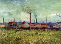 Vincent Van Gogh : Factories at Asnieres