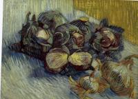 Vincent Van Gogh : Red Cabbages and Onions