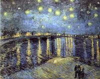 Gogh, Vincent van : Starry Night Over the Rhone