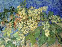 Vincent Van Gogh : Blossoming Chestnut Branches