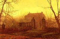 John Atkinson Grimshaw : Autumn Morning