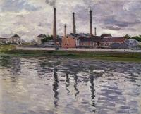 Gustave Caillebotte : Factories at Argenteuil