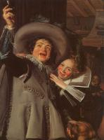 Frans Hals : Yonker Ramp and his Sweetheart