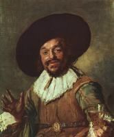 Frans Hals : The Merry Drinker