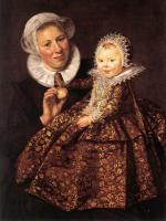 Frans Hals : Catharina Hooft with her Nurse