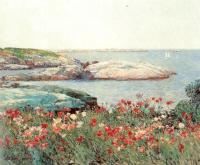 Childe Hassam : Poppies, Isles of Shoals