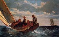 Winslow Homer : Breezing Up aka A Fair Wind