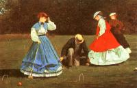 Winslow Homer : The Croquet Game