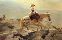Winslow Homer : Bridle Path, White Mountains