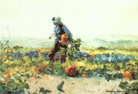 Winslow Homer : For to be a Farmer's Boy