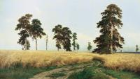 Ivan Shishkin : The Rye Field