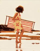 Jack Vettriano : Study from Sweet Bird of Youth
