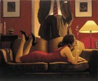 Jack Vettriano : The Parlour of Temptation