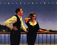 Jack Vettriano : Midnight Blue