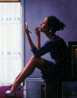 Jack Vettriano : Only The Deepest Red II