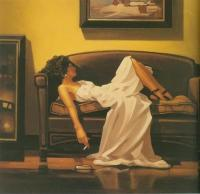 Jack Vettriano : After The Thrill Is Gone