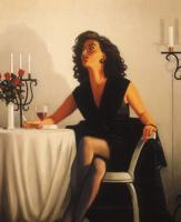 Jack Vettriano : Table for One