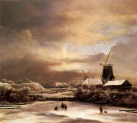 Jacob Van Ruisdael : Winter Landscape