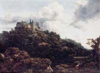 Jacob Van Ruisdael : Castle