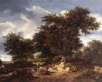 Jacob Van Ruisdael : The Great Oak