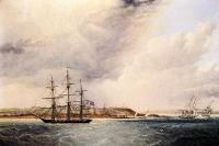 James E Buttersworth : A View of Nassau in the Bahamas, West Indies