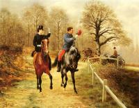 Jean Richard Goubie : An Afternoon Ride