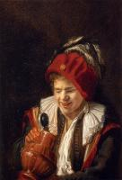 Judith Leyster : Kannekijker A Youth With A Jug