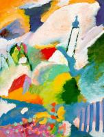 Wassily Kandinsky : Church in Murnau