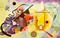 Wassily Kandinsky : Red-Blue-Yellow
