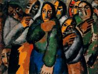 Kazimir Malevich : Peasant Women in a Church