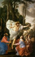 Laurent De La Hire : Jesus Appearing to the Three Marys