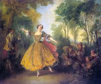 Nicolas Lancret : The Dancer Camargo