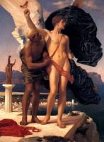 Lord Frederick Leighton : Daedalus and Icarus