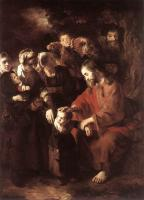 Nicolaes Maes : Christ Blessing the Children